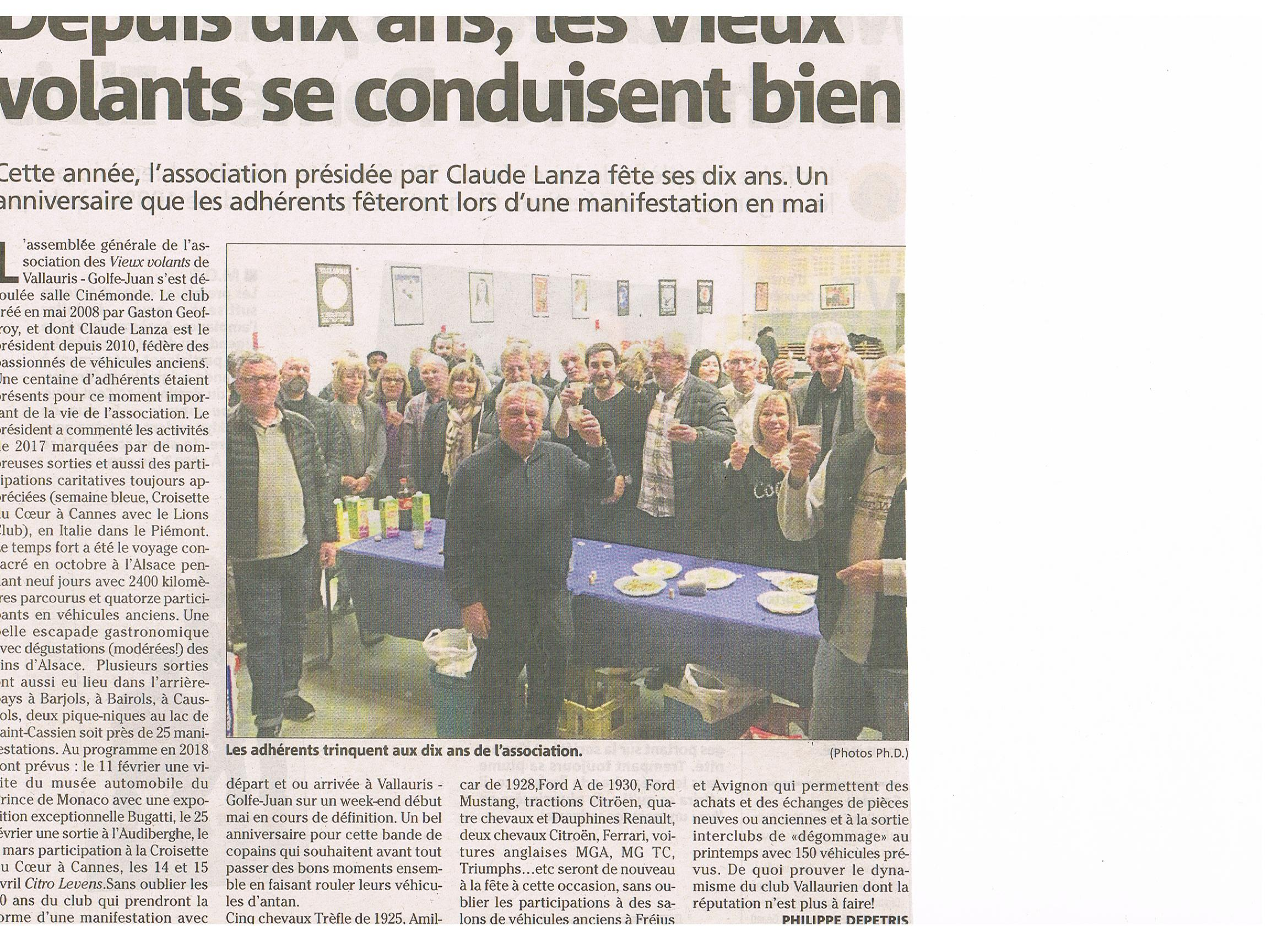 article NICE MATIN AG